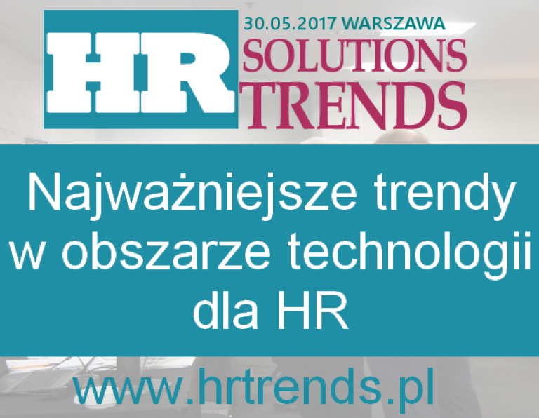 HR Solutions Trends 30 maja 2017
